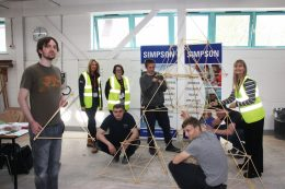 SIMPSON support – Step Up Into Construction