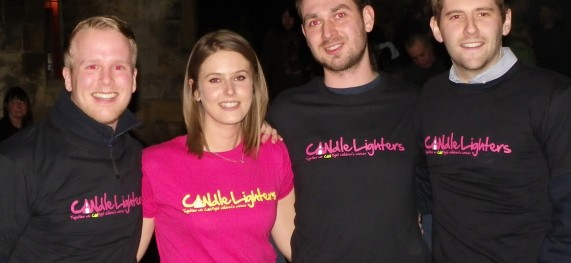 Candlelighters Firewalk
