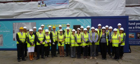 SIMPSON and the Industry leaders support Construction careers event