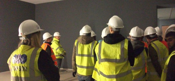 Site Visit from the University of Derby
