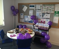 Ovarian Cancer Cake Sale