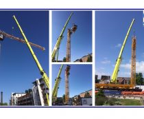 Tower Crane at Moxy Hotels, York