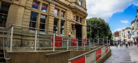 Virgin Money lounge opens in unique venue in Cardiff