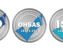 Successful recertification under ISO 9001:2015, ISO 1400:2015 and OHSAS 18001:2007