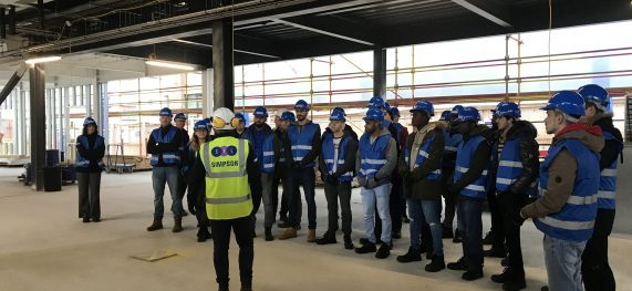 Students visit SIMPSON site
