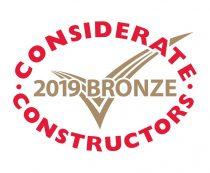 2019 Considerate Constructors Scheme Bronze Award Winners
