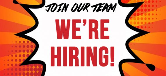 We're hiring – Join our team!