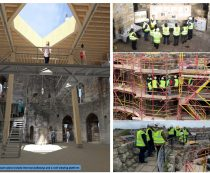 Conservation in action tour – Clifford's Tower, York