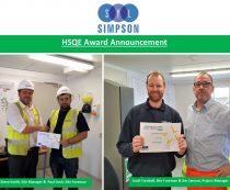 HSQE Award Announcement