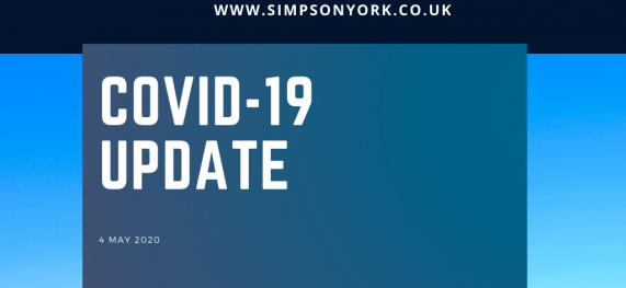 Simpson Update (4.5.2020) – CORONAVIRUS(COVID-19)