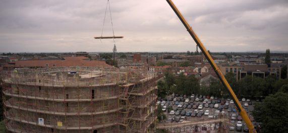 Clifford's Tower – Glulam Beam Lift